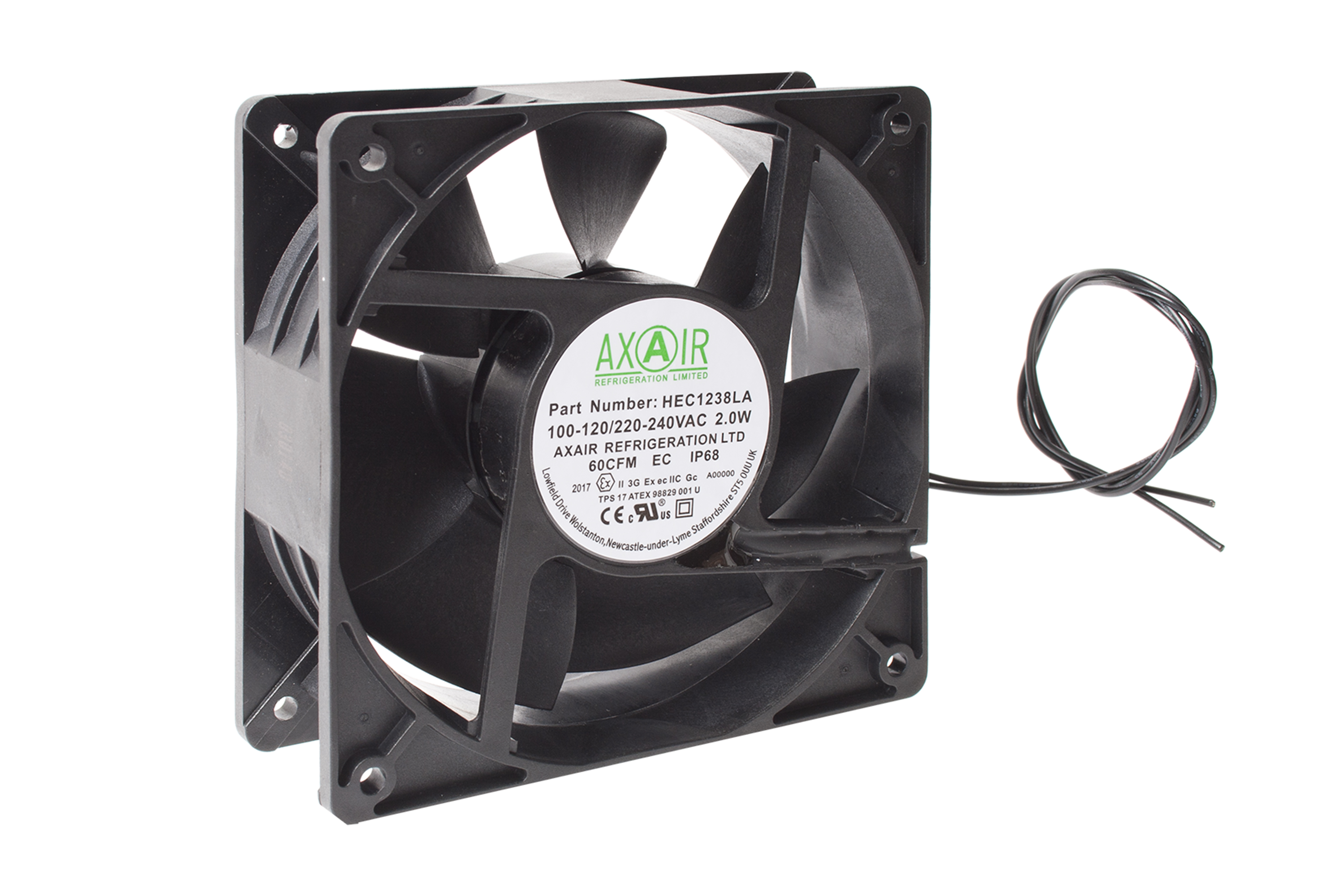 Explosion Proof Fan >> Explosion Proof Enclosure Cooling